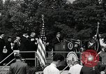 Image of John F Kennedy at American University Commencement Address Washington DC USA, 1963, second 8 stock footage video 65675034023