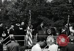 Image of John F Kennedy at American University Commencement Address Washington DC USA, 1963, second 9 stock footage video 65675034023