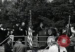Image of John F Kennedy at American University Commencement Address Washington DC USA, 1963, second 11 stock footage video 65675034023