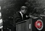Image of John F Kennedy at American University about human rights Washington DC USA, 1963, second 3 stock footage video 65675034025