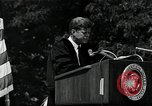 Image of John F Kennedy at American University about human rights Washington DC USA, 1963, second 5 stock footage video 65675034025