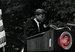 Image of John F Kennedy at American University about human rights Washington DC USA, 1963, second 6 stock footage video 65675034025