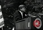 Image of John F Kennedy at American University about human rights Washington DC USA, 1963, second 7 stock footage video 65675034025
