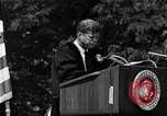 Image of John F Kennedy at American University about human rights Washington DC USA, 1963, second 9 stock footage video 65675034025