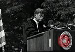 Image of John F Kennedy at American University about human rights Washington DC USA, 1963, second 10 stock footage video 65675034025