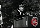 Image of John F Kennedy at American University about human rights Washington DC USA, 1963, second 11 stock footage video 65675034025
