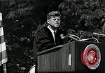 Image of John F Kennedy at American University about human rights Washington DC USA, 1963, second 12 stock footage video 65675034025