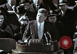 Image of John F Kennedy's Inaugural speech Washington DC USA, 1961, second 2 stock footage video 65675034027
