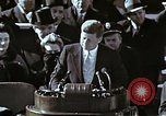 Image of John F Kennedy's Inaugural speech Washington DC USA, 1961, second 3 stock footage video 65675034027