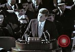 Image of John F Kennedy's Inaugural speech Washington DC USA, 1961, second 6 stock footage video 65675034027