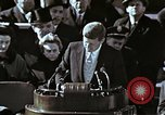 Image of John F Kennedy's Inaugural speech Washington DC USA, 1961, second 12 stock footage video 65675034027