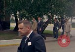 Image of US President John F Kennedy at Terrace Service Club Fliegerhorst Kaserne Post Hanau Germany, 1963, second 3 stock footage video 65675034041