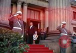 Image of US President John F Kennedy comes to Kurhaus Wiesbaden Germany, 1963, second 3 stock footage video 65675034044