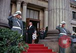 Image of US President John F Kennedy comes to Kurhaus Wiesbaden Germany, 1963, second 4 stock footage video 65675034044