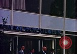 Image of JFK arrives  at Hotel General Von Steuben Wiesbaden Germany, 1963, second 7 stock footage video 65675034046