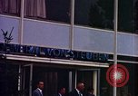 Image of JFK arrives  at Hotel General Von Steuben Wiesbaden Germany, 1963, second 8 stock footage video 65675034046