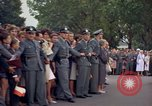 Image of President Kennedy in motorcade and spectators Wiesbaden Germany, 1963, second 2 stock footage video 65675034047