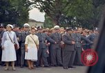 Image of President Kennedy in motorcade and spectators Wiesbaden Germany, 1963, second 4 stock footage video 65675034047