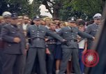 Image of President Kennedy in motorcade and spectators Wiesbaden Germany, 1963, second 5 stock footage video 65675034047
