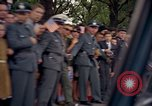 Image of President Kennedy in motorcade and spectators Wiesbaden Germany, 1963, second 8 stock footage video 65675034047