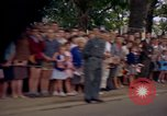 Image of President Kennedy in motorcade and spectators Wiesbaden Germany, 1963, second 11 stock footage video 65675034047