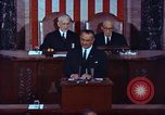 Image of Lyndon B Johnson addresses congress Washington DC USA, 1963, second 2 stock footage video 65675034070