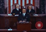 Image of Lyndon B Johnson addresses congress Washington DC USA, 1963, second 3 stock footage video 65675034070