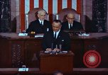 Image of Lyndon B Johnson addresses congress Washington DC USA, 1963, second 4 stock footage video 65675034070
