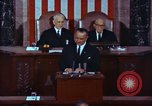 Image of Lyndon B Johnson addresses congress Washington DC USA, 1963, second 8 stock footage video 65675034070