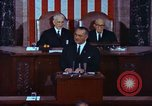 Image of Lyndon B Johnson addresses congress Washington DC USA, 1963, second 9 stock footage video 65675034070