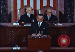 Image of Lyndon B Johnson addresses congress Washington DC USA, 1963, second 11 stock footage video 65675034070