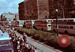 Image of President going through streets Berlin West Germany, 1963, second 5 stock footage video 65675034074