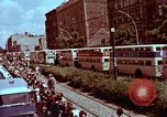 Image of President going through streets Berlin West Germany, 1963, second 6 stock footage video 65675034074