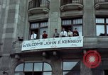 Image of John F Kennedy Berlin West Germany, 1963, second 3 stock footage video 65675034087