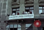 Image of John F Kennedy Berlin West Germany, 1963, second 4 stock footage video 65675034087