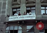 Image of John F Kennedy Berlin West Germany, 1963, second 6 stock footage video 65675034087