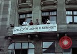 Image of John F Kennedy Berlin West Germany, 1963, second 8 stock footage video 65675034087