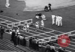 Image of athletes racing on the track Evanston Illinois USA, 1938, second 9 stock footage video 65675034096