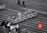 Image of athletes racing on the track Evanston Illinois USA, 1938, second 11 stock footage video 65675034096