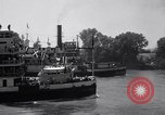 Image of Port of Stockton steamboat  Sacramento California USA, 1938, second 6 stock footage video 65675034097