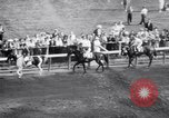 Image of race horse War Admiral Saratoga Springs New York USA, 1938, second 7 stock footage video 65675034103