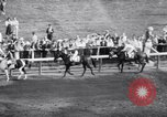 Image of race horse War Admiral Saratoga Springs New York USA, 1938, second 8 stock footage video 65675034103