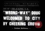 Image of Wrong Way Doug New Orleans Louisiana USA, 1938, second 1 stock footage video 65675034107