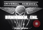 Image of Winston Churchill Birmingham England, 1939, second 1 stock footage video 65675034112