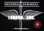Image of Alec Henshaw London England United Kingdom, 1939, second 2 stock footage video 65675034113