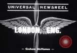 Image of Alec Henshaw London England United Kingdom, 1939, second 3 stock footage video 65675034113