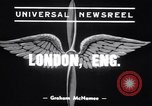 Image of Alec Henshaw London England United Kingdom, 1939, second 4 stock footage video 65675034113