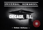 Image of Dr Eduard Benes Chicago Illinois USA, 1939, second 3 stock footage video 65675034114