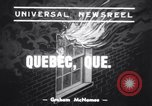 Image of 1800 patients saved Quebec City Quebec Canada, 1939, second 1 stock footage video 65675034115