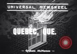 Image of 1800 patients saved Quebec City Quebec Canada, 1939, second 2 stock footage video 65675034115